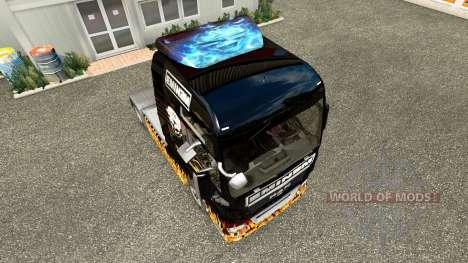 Скин Eminem на тягач MAN для Euro Truck Simulator 2