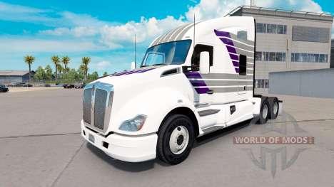 Скин Scllops на тягач Kenworth для American Truck Simulator