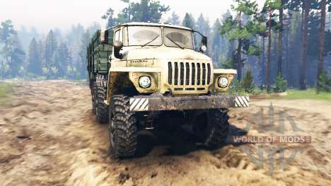 Урал-4320-01 для Spin Tires