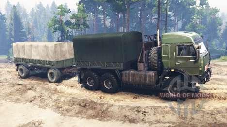 КамАЗ-44108 [military] для Spin Tires