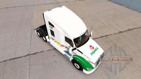 Скин Pemex на тягач Kenworth для American Truck Simulator