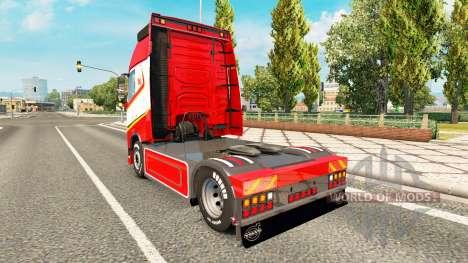 Тюнинг для Volvo FH для Euro Truck Simulator 2