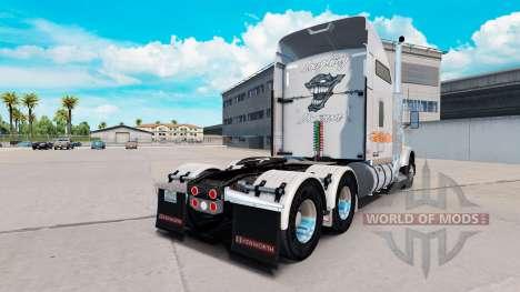 Скин Laughing Daemon Metallic на Kenworth T800 для American Truck Simulator