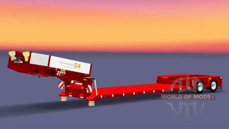 Низкорамный трал Doll Vario для Euro Truck Simulator 2