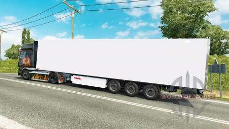 Рефрижераторный полуприцеп Kogel для Euro Truck Simulator 2