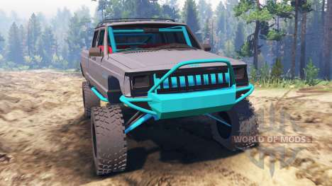 Jeep Grand Cherokee Comanche [pre-runner] для Spin Tires