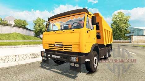 КамАЗ-65115 для Euro Truck Simulator 2