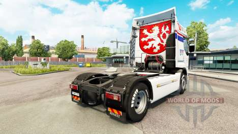 Скин CSAD на тягач Renault для Euro Truck Simulator 2