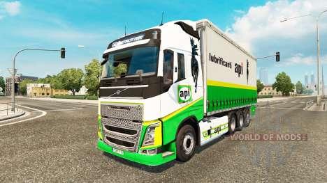 Volvo FH 2012 [tandem] для Euro Truck Simulator 2