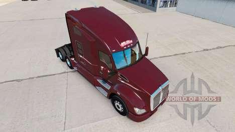 Скин Millis Transfer Inc. на тягач Kenworth для American Truck Simulator