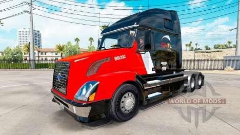 Скин CNTL на тягач Volvo VNL 670 для American Truck Simulator
