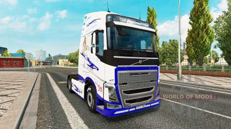 Скин American Dream на тягач Volvo для Euro Truck Simulator 2