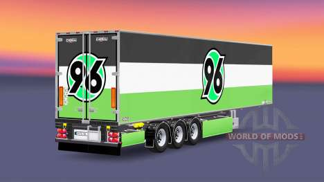 Полуприцеп Chereau Hannover 96 для Euro Truck Simulator 2