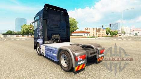 Скин Winter Wolves на тягачи для Euro Truck Simulator 2