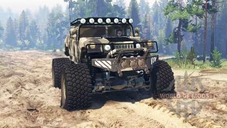Hummer H1 для Spin Tires