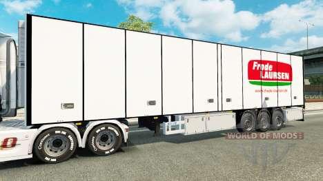 Полуприцеп-рефрижератор Narco для Euro Truck Simulator 2