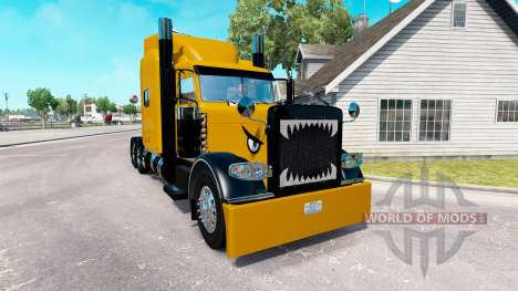 Скин Hard Truck на тягач Peterbilt 389 для American Truck Simulator