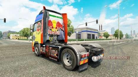 Скин на тягач Volvo для Euro Truck Simulator 2