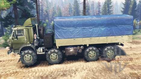 КамАЗ-6350 Мустанг v5.0 для Spin Tires