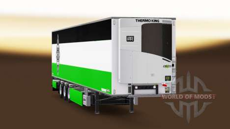 Полуприцеп Chereau Borussia Monchengladbach для Euro Truck Simulator 2