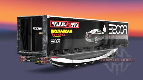 Скин FOOSE на полуприцеп для Euro Truck Simulator 2
