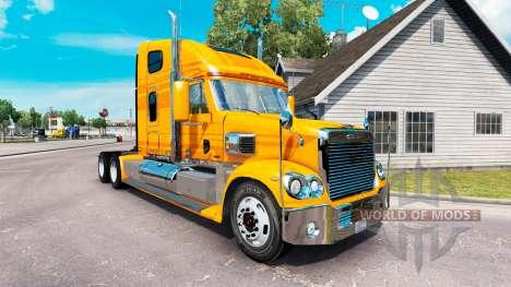 Скин Metallic на тягач Freightliner Coronado для American Truck Simulator