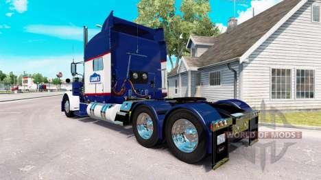 Скин Lowes на тягач Peterbilt 389 для American Truck Simulator