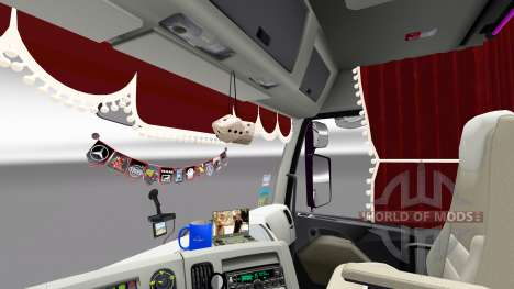 Аксессуары для интерьера Renault для Euro Truck Simulator 2