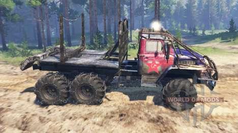 Урал-375 Триал v2.0 для Spin Tires