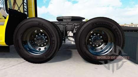 Кованые алюминиевые колёсные диски Alcoa v1.5 для American Truck Simulator