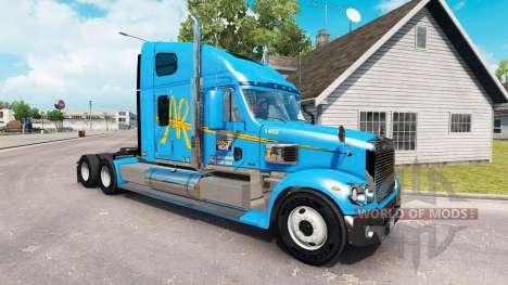 Скин A&R на тягач Freightliner Coronado для American Truck Simulator