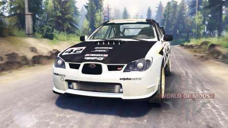Subaru Impreza STi 2007 для Spin Tires