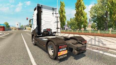 Скин Carbonne на тягач Volvo для Euro Truck Simulator 2