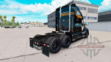Скин The Division на тягач Kenworth для American Truck Simulator