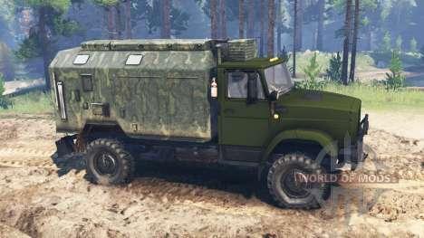ЗиЛ-4327 [военный] для Spin Tires