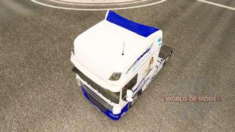 Скин American Dream на тягач DAF для Euro Truck Simulator 2