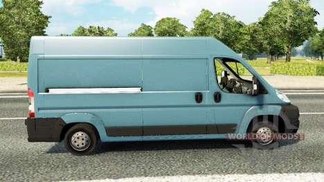 Peugeot Boxer для трафика для Euro Truck Simulator 2