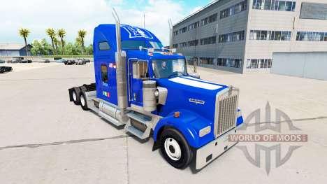 Скин Duke University Pride v1.02 на Kenworth для American Truck Simulator
