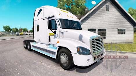 Скин J.B. Hunt на тягач Freightliner Cascadia для American Truck Simulator