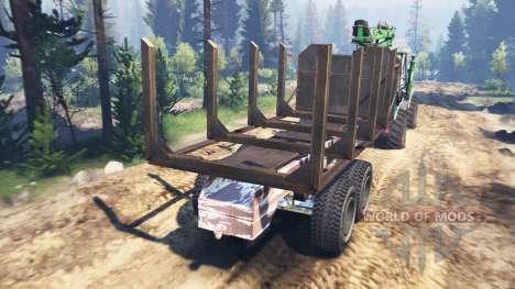 Т-150К v2.0 для Spin Tires