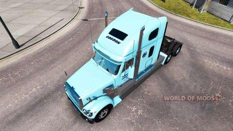 Скин Gordon на тягач Freightliner Coronado для American Truck Simulator