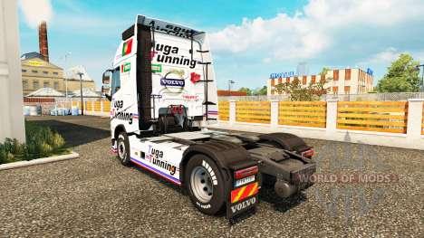 Скин Tuga Tunning на тягач Volvo для Euro Truck Simulator 2