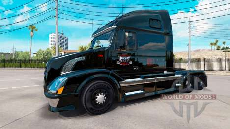Скин Bancroft & Sons на тягач Volvo VNL 670 для American Truck Simulator