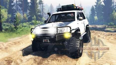 Toyota Land Cruiser 100 2000 [Samuray] v3.0 для Spin Tires