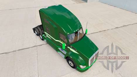 Скин Moving On на тягач Kenworth для American Truck Simulator