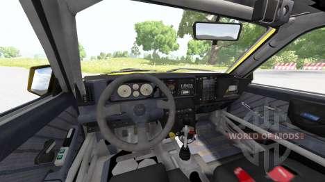 Lancia Delta (831) HF Integrale Evo II для BeamNG Drive