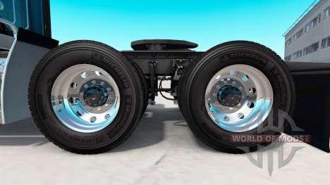 Кованые алюминиевые колёсные диски Alcoa для American Truck Simulator