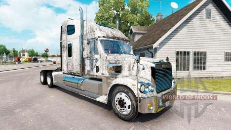 Скин Grunge Metal на тягач Freightliner Coronado для American Truck Simulator