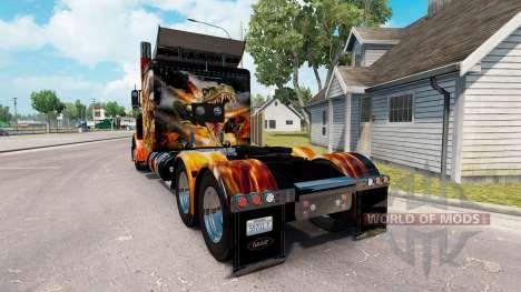 Скин Big Bang на тягач Peterbilt 389 для American Truck Simulator