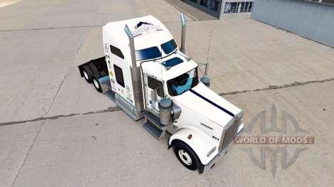Скин Mastercraft Cabinets на тягач Kenworth W900 для American Truck Simulator